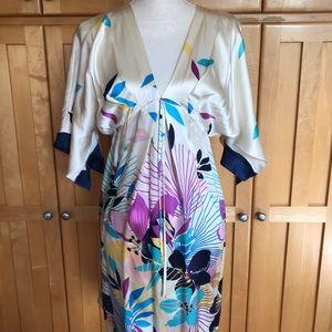 Yumi Kim Kyoto Kimono Silk Dress size M